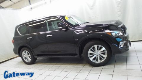 Pre-Owned 2017 INFINITI QX80 Base AWD 4D Sport Utility
